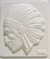 Mould 2128 - Indian Chief