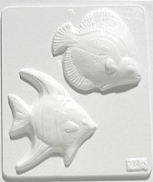 Mould 2143 - Two fish