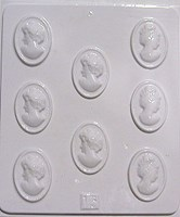 Chocolate Mould 13 - Cameo