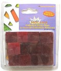 Cathedral Glass Chips - Mosaic Tiles - Red
