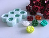 Small Roses Soap Mould RO404