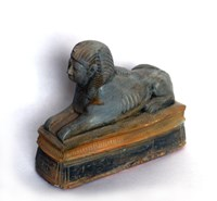 LM 1015 Egyptian Sphinx Latex Mould/Mold for Plaster/candle/Soap/Concrete