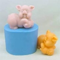 Pig Figurine Silicone Mould - RO426