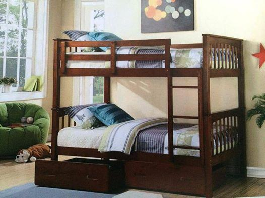 Model Of Bunk bed single SOLID white or a oak NEW In 2018 - Unique solid bunk beds Lovely