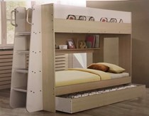 New Arrivals Single bunk with pullout single trundle NEW ARRIVAL