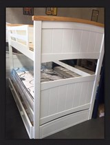Bunk bed single with TRUNDLE SOLID NEW