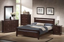 Bedroom suite 4 pce hardwood NEW