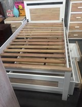 SINGLE BED WITH SINGLE TRUNDLE BED AND DRAWERS NEW